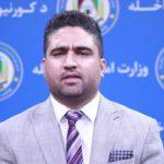 طارق آرین، سخنگوی وزارت داخله