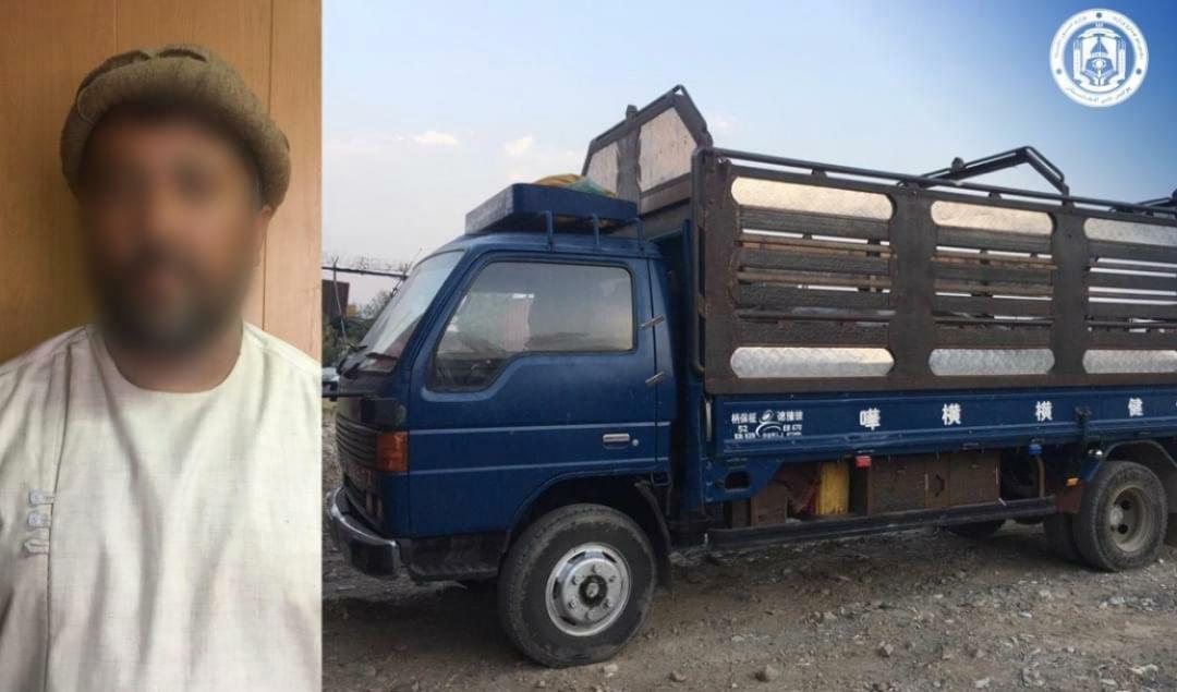 یک عراده موتر مملو از مواد انفجاری در کابل کشف شد