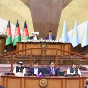سخنرانی حاشیهدار غنی در مراسم معرفی کابینه