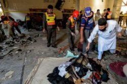 انفجار در پیشاور پاکستان