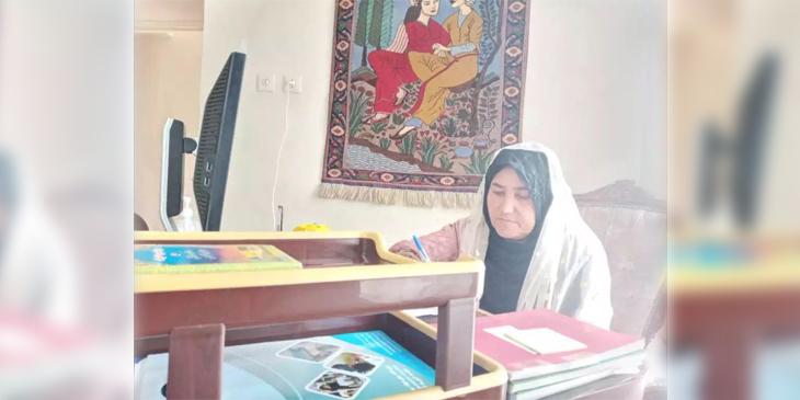 خانم جامی میگوید که در پی شیوع ویروس کرونا برعلاوه ضرر مالی حدود یک میلیون افغانی قرضدار شده است