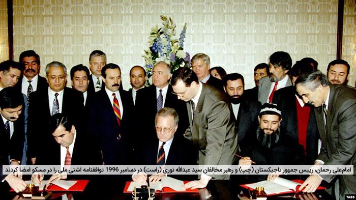صلحسازان بینالمللی در تاجیکستان و افغانستان