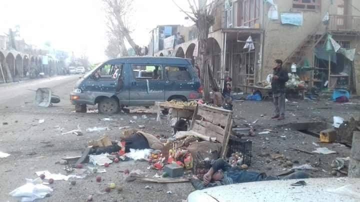 دو انفجار در شهر بامیان دستکم ۱۴ کشته و ۵۰ زخمی بر جای گذاشت