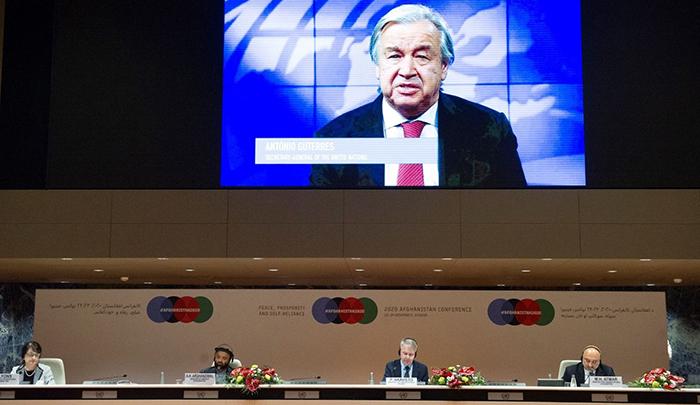 دبیر کل سازمان ملل خواستار دو برابر شدن تلاشها برای آتشبس فوری و بدون قید و شرط شد