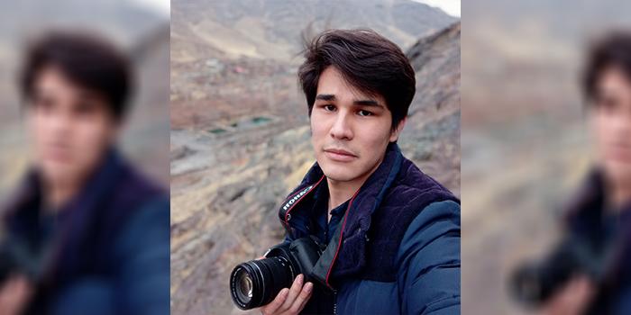 ظهیر کابلی، جوان مهاجر که کارزار #من¬_مهاجرم! را راهاندازی کرده است/عکس: ارسالی به اطلاعات روز