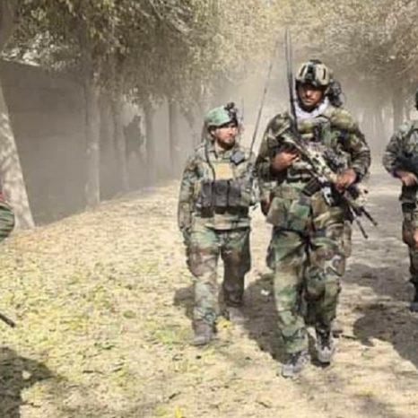 کماندوهای ارتش در ولسوالی دشتارچی