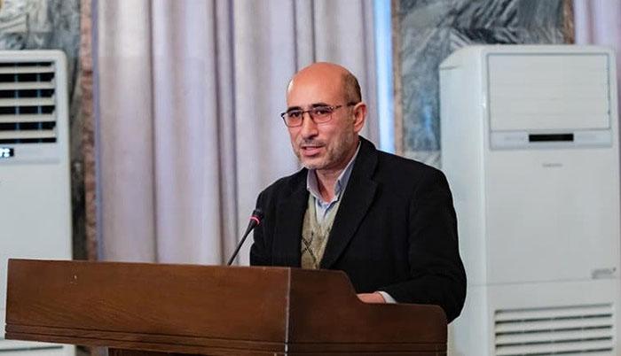 دکتر فاروق انصاری، آمر دیپارتمنت قومنگاری (اتنوگرافی) اکادمی علوم افغانستان/ عکس: ارسالی به اطلاعات روز