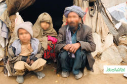 روایتی از زندگی دشوار بیجاشدگان داخلی در روزهای سرد هرات