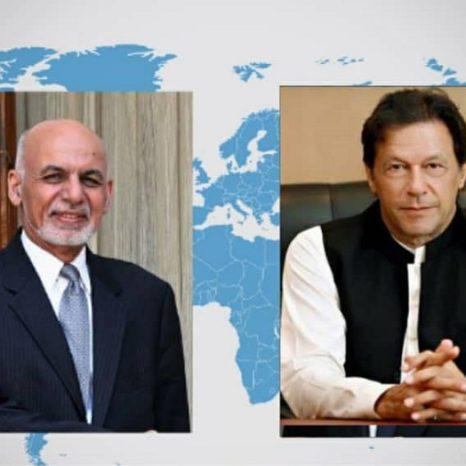 رییسجمهور غنی با نخستوزیر پاکستان تلفنی صحبت کرد