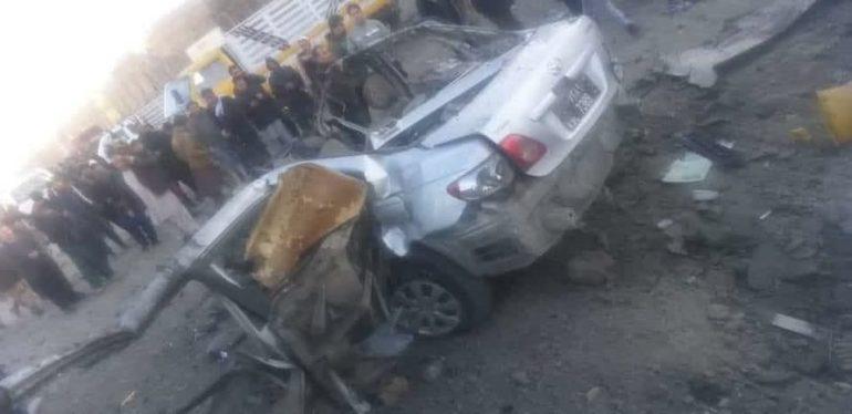 انفجار در شهر کابل