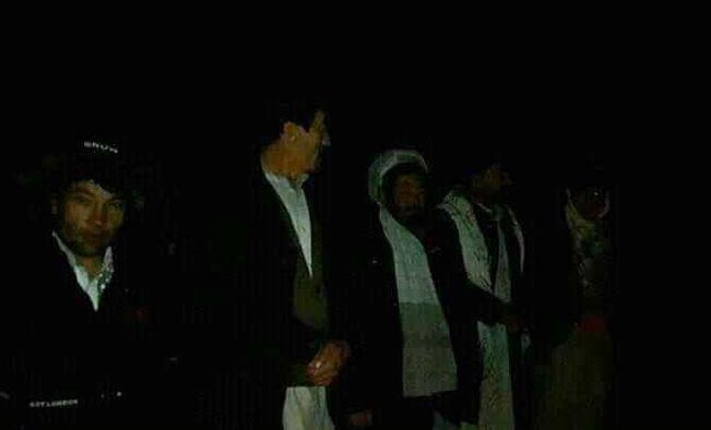 غیرنظامیان رهاشده توسط طالبان