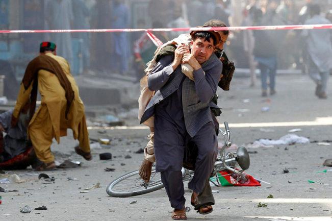 قربانیان جنگ افغانستان