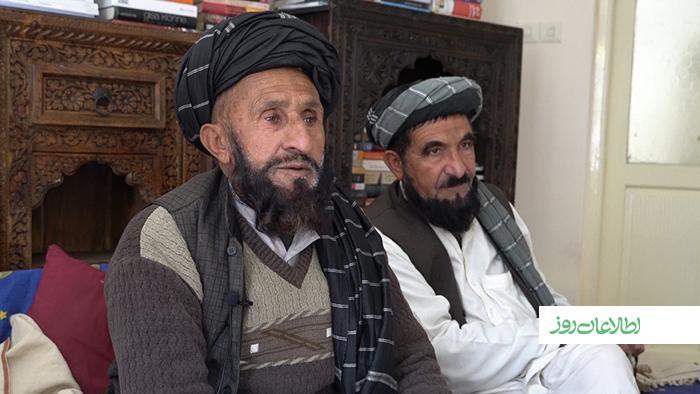 اخترمحمد صالحخیل از متنفذین زرمت غلاممحمد را همراهی میکند