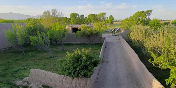 خانه شش قربانی در منطقهی سورکی ولسوالی زرمت پکتیا/ عکس: ارسالی به اطلاعات روز