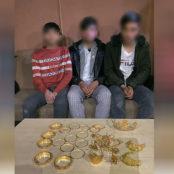 بازداشت سه سارق منازل