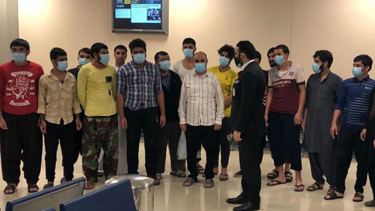 زندانیان رهاشدهی افغان در دبی