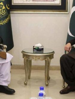 دیدار خلیلی با وزیر خارجهی پاکستان