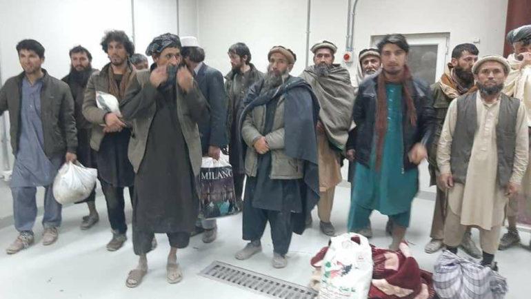 زندانیان رهاشده در بغلان