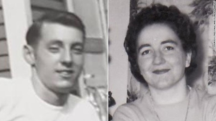 عکسی از دوران جوانی پل و هاروی