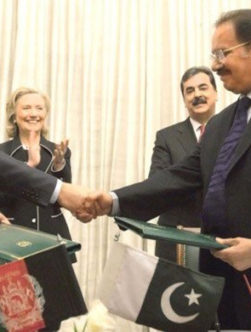 ابعاد سیاسی سازشنامه تجاری-ترانزیتی افغانستان و پاکستان