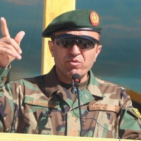 فرمانده قول اردوی 207 ظفر