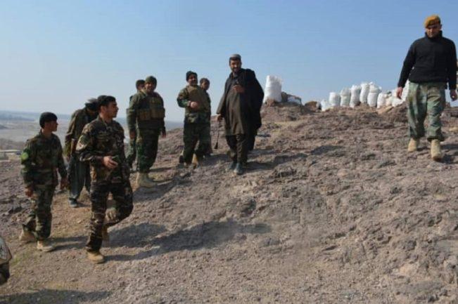 نیروهای ارتش در قندهار