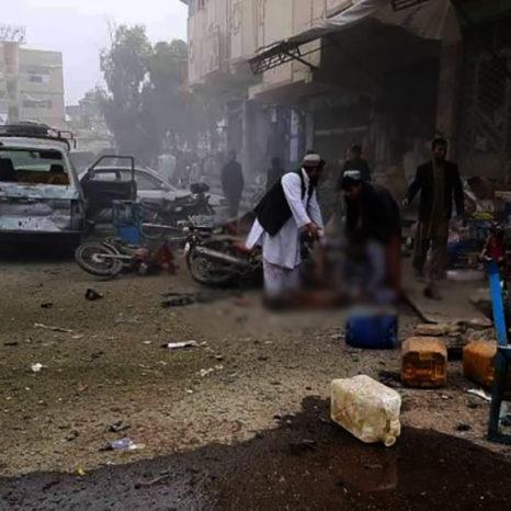 انفجار در شهر لشکرگاه