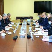 دیدار اتمر با دبیر امنیت روسیه