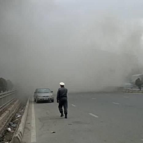 انفجار در چهارراهی برکی کابل