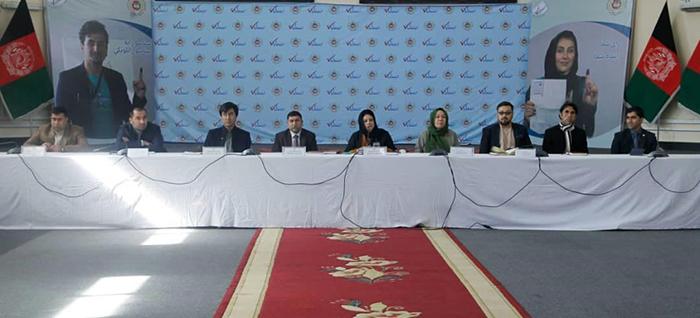 کمیسیون انتخابات تاکنون پلان عملیاتی برای برگزاری انتخاباتهای سال آینده و طرح بودجهی آنرا نهایی نکرده است. عکس: IEC