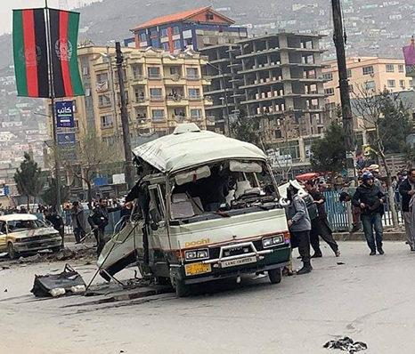 انفجار موترهای لینی در شهر کابل؛ «هیچ کسی مصون نیست و همه هدفاند»