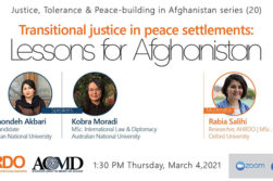 دشواریهای اجرای عدالت انتقالی در توافق سیاسی صلح