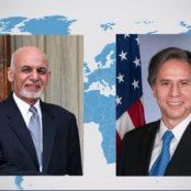 نامهی وزیر خارجهی امریکا به رییسجمهور غنی