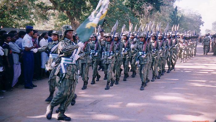 زنان در ارتش سریلانکا