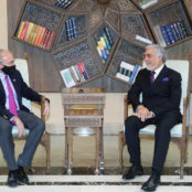 عبدالله و معاون سفارت امریکا در کابل