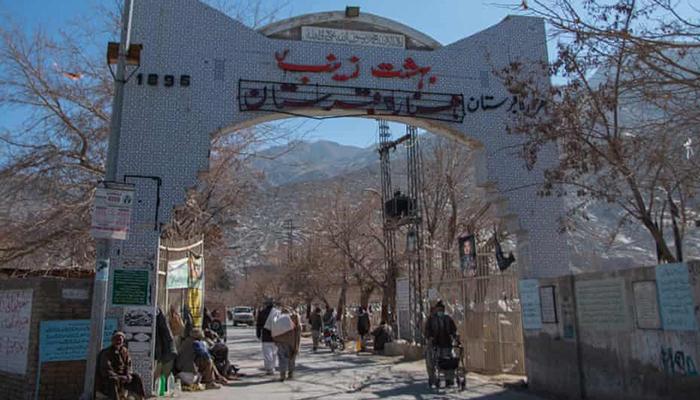 قبرستان بهشت زینب در مریآباد، در منطقه هزارهنشین، در مرکز بلوچستان در کویته. عکس: مشعل بلوچ / گاردین