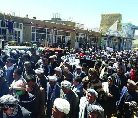 طالبان قدرت جنایتپیشگی خود را به رخ میکشند