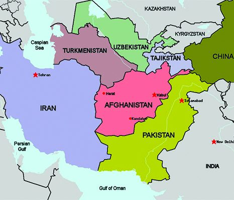 تعامل کشورهای منطقهای و شرکای کلیدی با افغانستان پس از سال ۲۰۲۱ (۲)