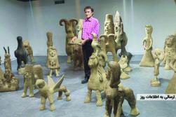 «میکلآنژ افغانستان» در ایران؛ سرایداری که مجسمهساز شد