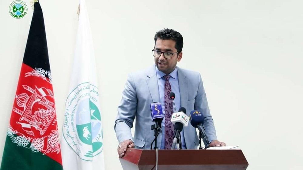رفیع قاضیزاده، رییس عمومی منابع طبیعی وزارت زراعت، مالداری و آبیاری