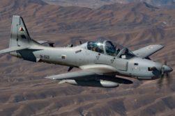 حملهی هوایی نیروهای افغان
