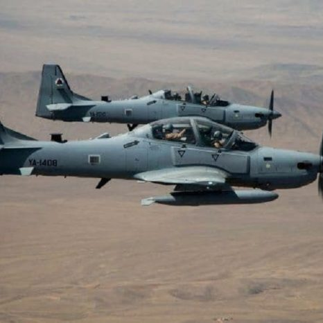 حمله هوایی در قندهار