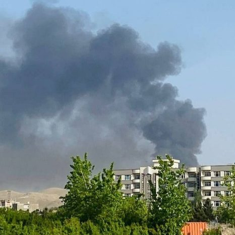 آتشسوزی در تأسیسات گاز کمرکلاغ هرات