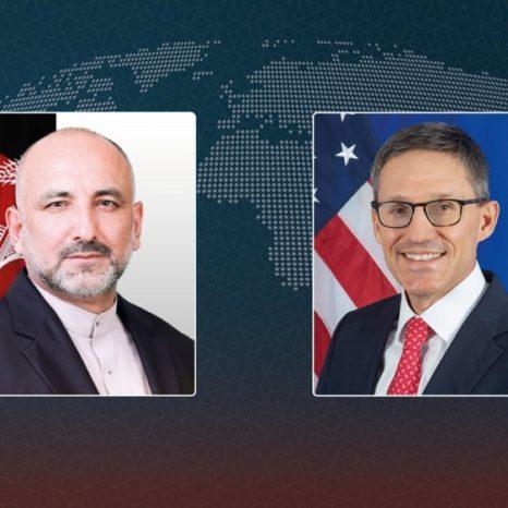 تماس تلفنی اتمر با وزیر خارجهی امریکا