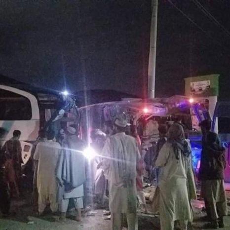 حادثه ترافیکی در ولسوالی پغمان کابل
