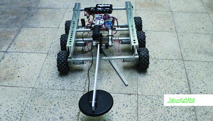 دختران رباتساز هرات ربات ماینروب میسازند.