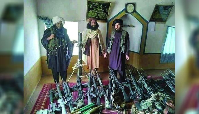 طالبان حملاتشان را در بخش های وسیعی از ولایتهای غربی افزایش دادهاند. عکس: شبکههای اجتماعی