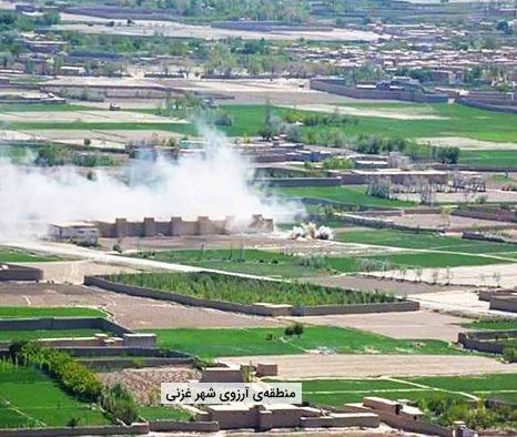 سقوط یک پاسگاه ارتش در شهر غزنی به دست طالبان