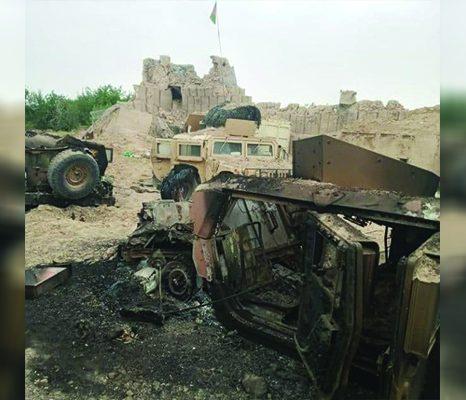 شعلهورشدن جنگ در ولایتهای غربی؛ «طالبان شکست خوردهاند»