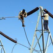 تخریب پایههای برق